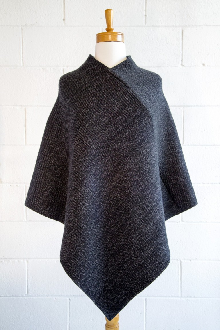 Basalt Wool Poncho
