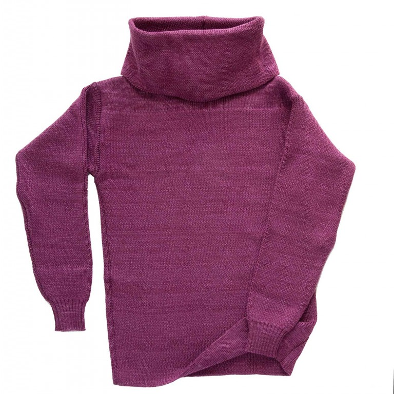 Ladies Heather Cowl Neck