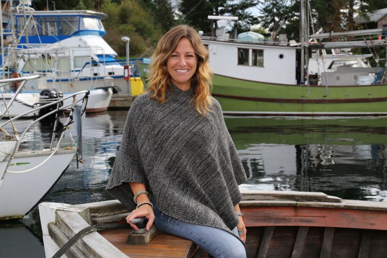 Granite Wool Poncho